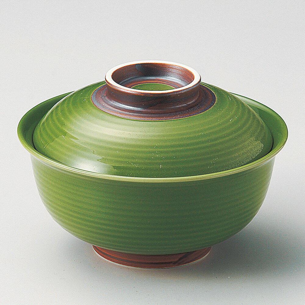☆ 円菓子碗 ☆ もえぎ反型円菓子碗(大) [ φ13 x 8.5cm ]