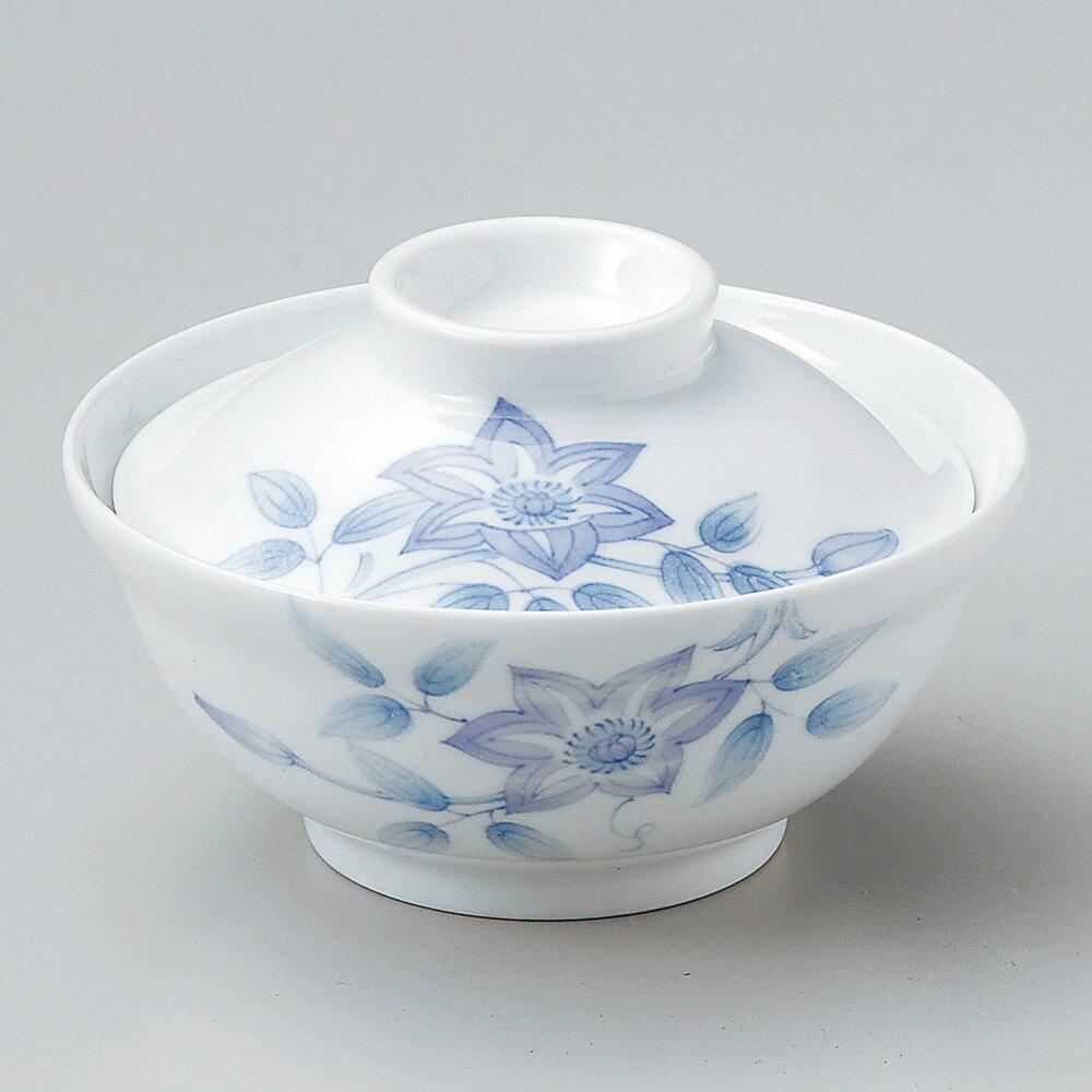 ☆ 円菓子碗 ☆ 鉄仙花蓋物 [ φ12 x 7.6cm ]