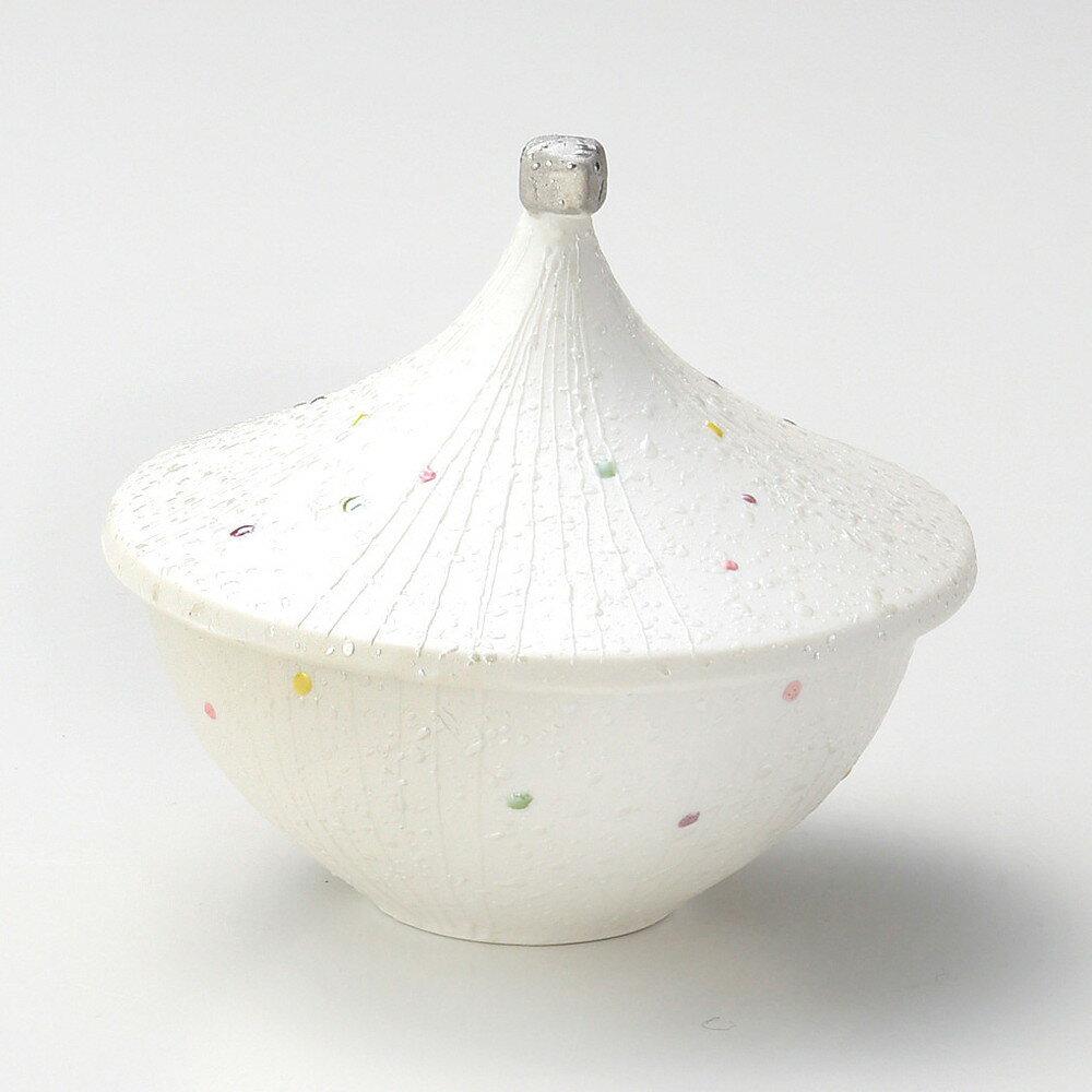 ☆ 蓋向 ☆ パール傘形円菓子碗 [ φ11 x 9cm ]