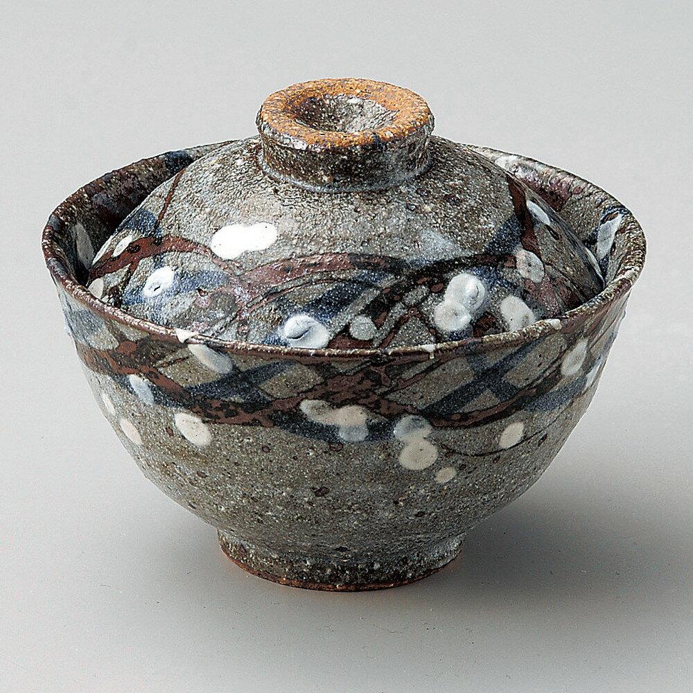 ☆ 円菓子碗 ☆ むさし野小蓋物 [ φ11 x 8.8cm ]