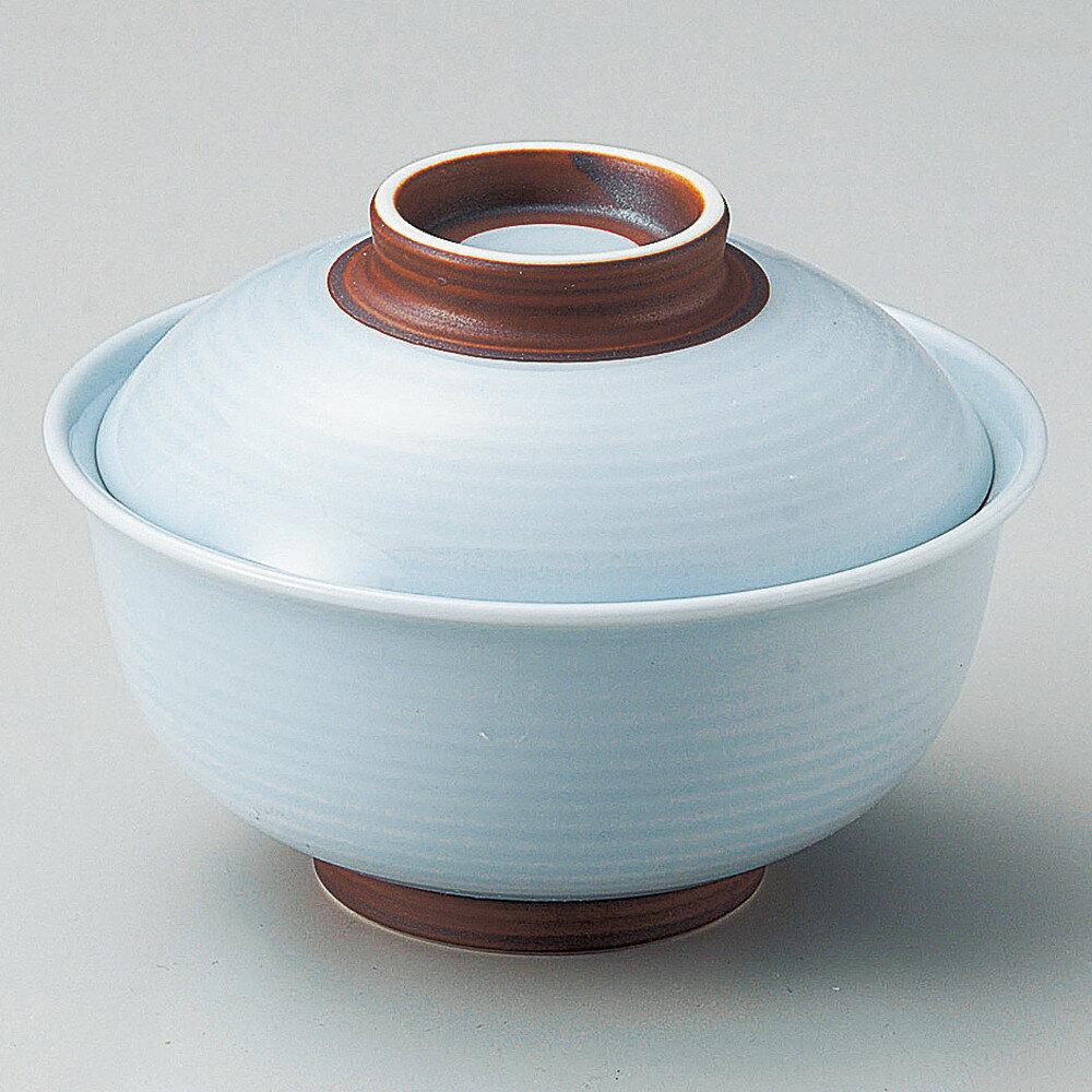 ☆ 円菓子碗 ☆ 青白錆巻反 円菓子碗(小) [ φ11 x 7.6cm ]