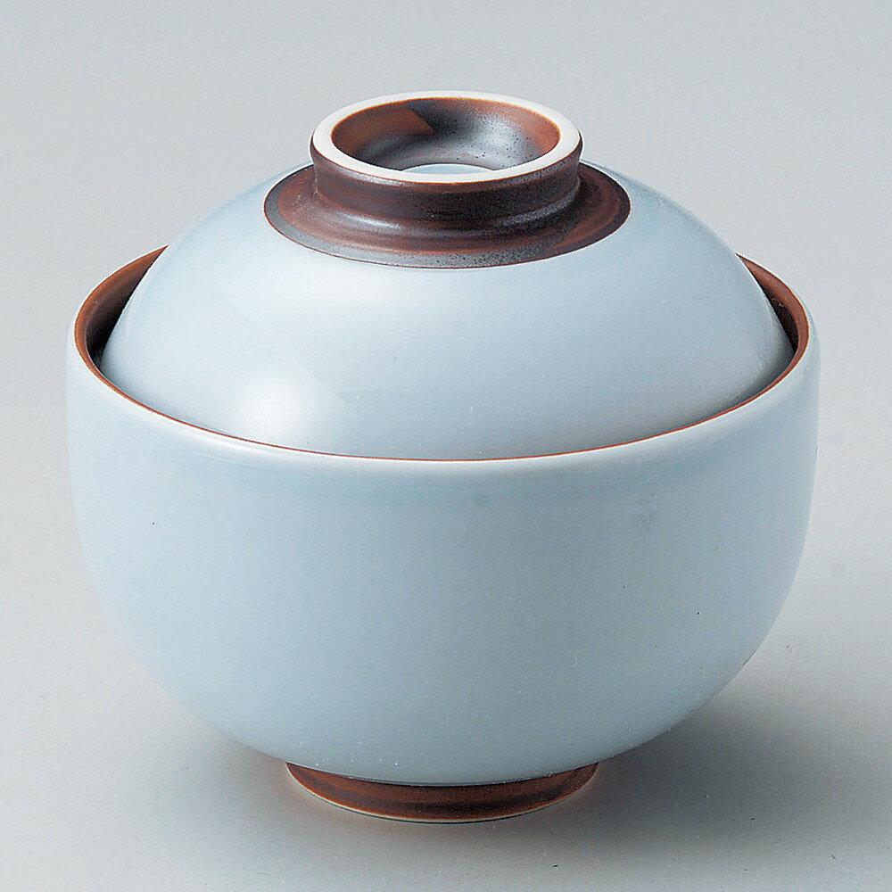 ☆ 円菓子碗 ☆ 青白錆巻円菓子碗(小) [ φ10 x 9cm ]