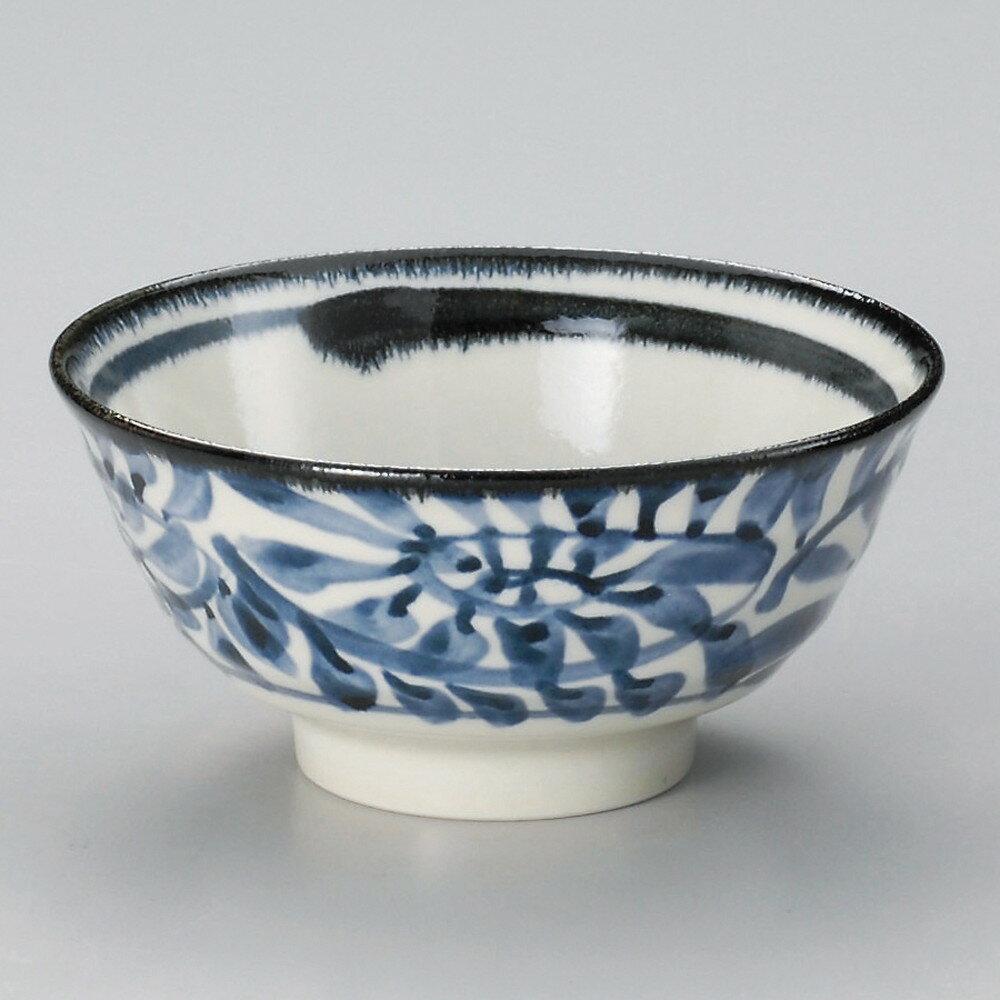 ☆ 多用丼 ☆ 藍染唐草5.5多用丼 [ φ17.6 x 8.5cm ]