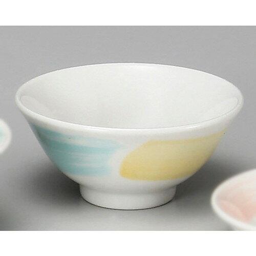 ☆ 中華食器 ☆ 三色パステル3.6スープ碗 [ φ11.7 x 5.3cm ]