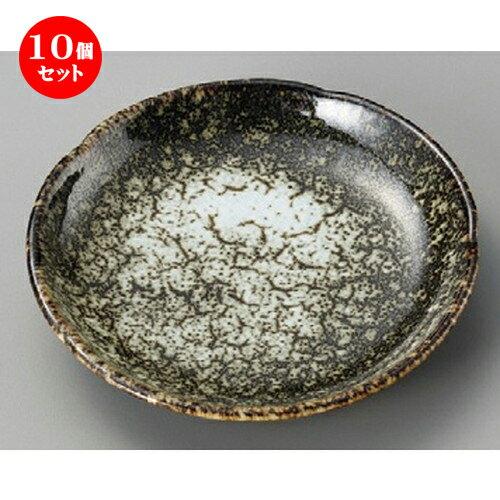 10個セット☆ 丸皿 ☆ 雲海黒梅形5.0皿 [ 153 x 27mm ]
