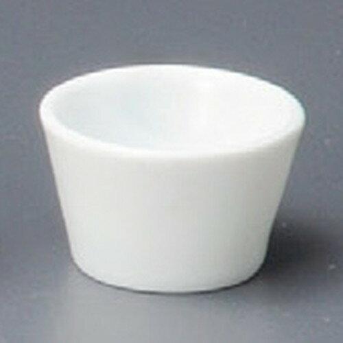 3個セット ☆ 洋小物 ☆ 白磁フラットプチボール [ 41 x 26mm ]