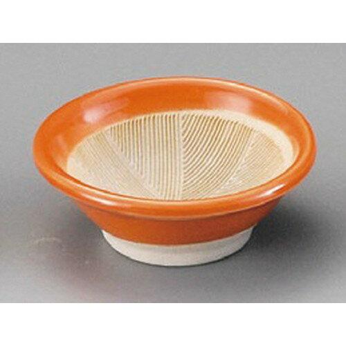 5個セット☆ 珍味 ☆ オレンジ2.5寸すり小鉢 [ 77 x 28mm ]