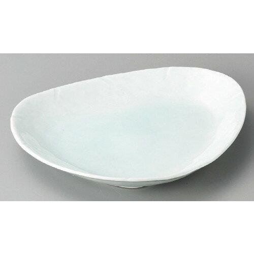 3個セット☆ 変形皿 ☆ 青白三角大皿 [ 280 x 230 x 30mm ]