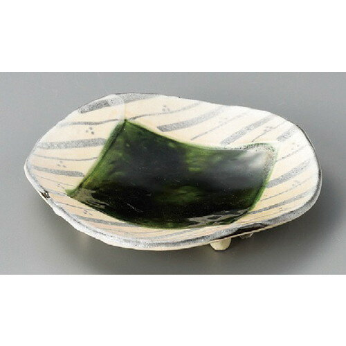 5個セット☆ 丸皿 ☆ 四足変形筋皿 [ 190 x 185 x 34mm ] 【料亭 旅館 和食器 飲食店 業務用 】