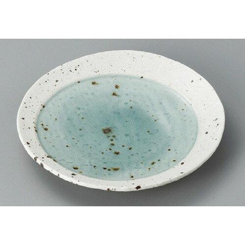 10個セット☆ 丸皿 ☆ 湖水グリーン12cm丸皿 [ 125 x 22mm ] 【料亭 旅館 和食器 飲食店 業務用 】