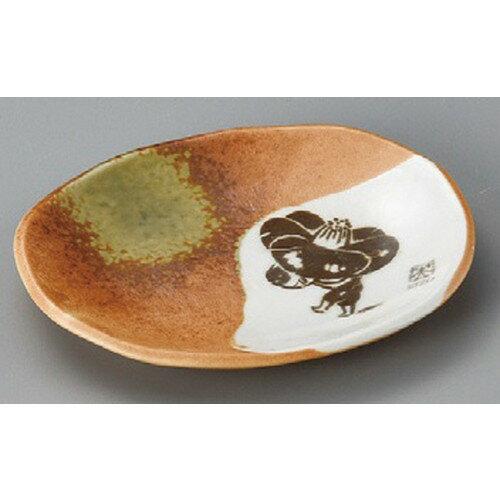 10個セット☆ 丸皿 ☆ EIZO伊賀小皿 [ 155 x 121 x 20mm ] 【料亭 旅館 和食器 飲食店 業務用 】