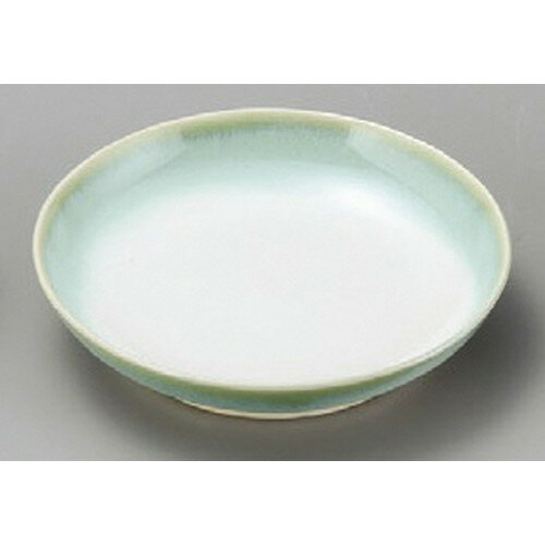 5個セット☆ 小皿 ☆ 淡緑彩3.0丸小皿 [ 96 x 17mm ]