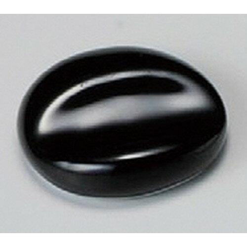 5個セット☆ 箸置 ☆ 黒マット丸一つ押箸置 [ 40mm ]