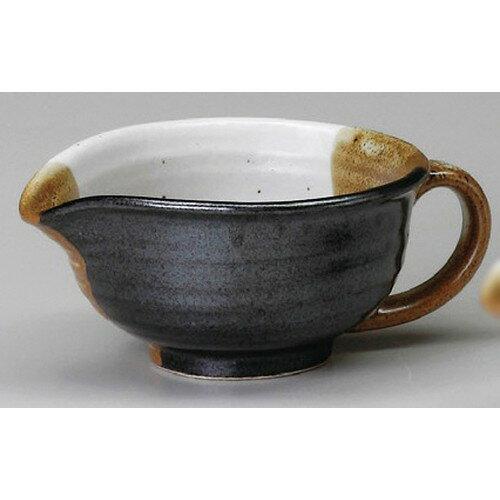 10個セット☆ ドレッシング ☆ 茶塗り分ドレッシング鉢(大) [ 155 x 120 x 65mm ]