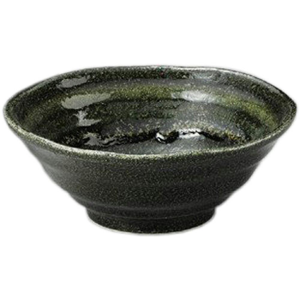 3個セット☆ 丼 ☆ 黒織部6.0彩鉢 [ 186 x 70mm ]