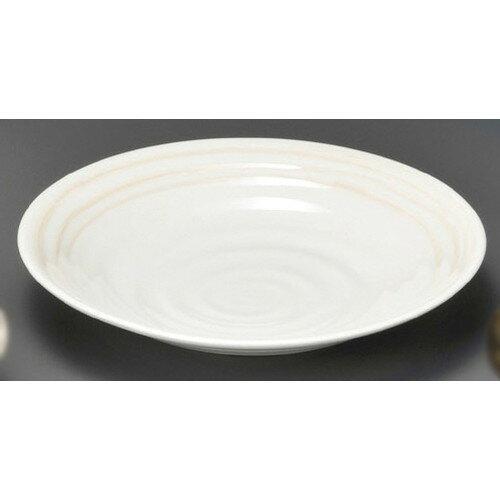 10個セット☆ 麺皿 ☆ あかり6.0麺皿(小) [ 195 x 37mm ] 【蕎麦屋 定食屋 和食器 飲食店 業務用 】