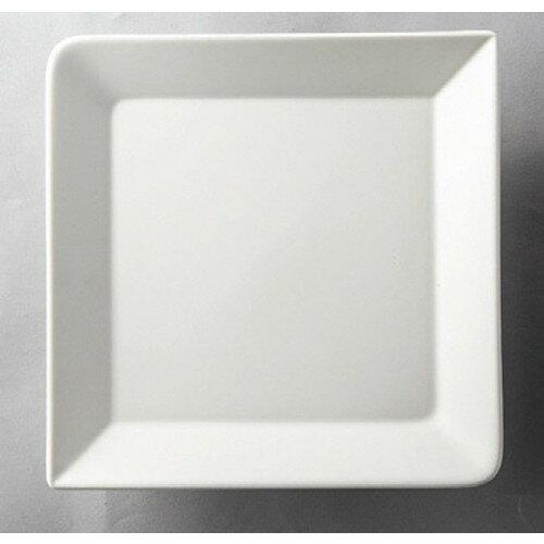 5個セット☆ 洋食器 ☆ 白マット正角大皿 [ 204 x 22mm ] 【レストラン ホテル 飲食店 洋食器 業務用 】