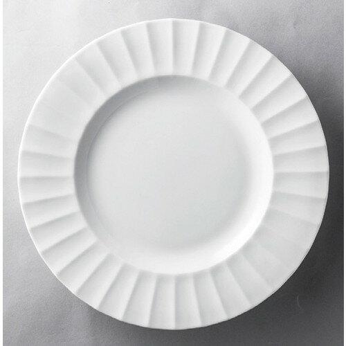 10個セット☆ 洋食器 ☆ フルーテッド20cmプレート [ 196 x 20mm ] 【レストラン ホテル 飲食店 洋食器 業務用 】
