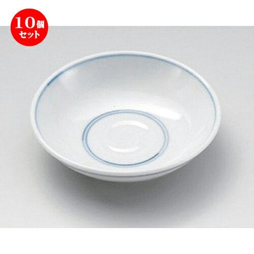 10個セット☆ 小皿 ☆ゴス筋丸3.8皿 [ 12 x 3cm 100g ] 【 料亭 旅館 和食器 飲食店 業務用 】