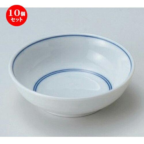 10個セット☆ 松花堂 ☆ゴス筋丸鉢 [ 11.2 x 3.5cm 138g ]