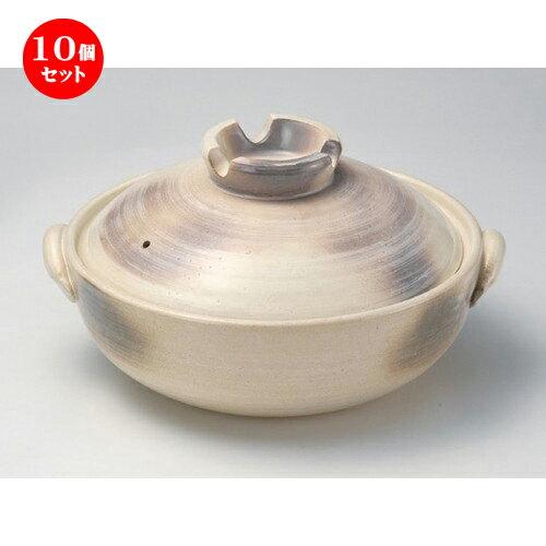 鍋, 土鍋 10 7 25.5 x 22.5 x 13cm 1750g