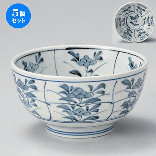 5個セット☆ 多用丼 ☆古染間取菜5.0京丼 [ 15.5 x 8cm 500g ]
