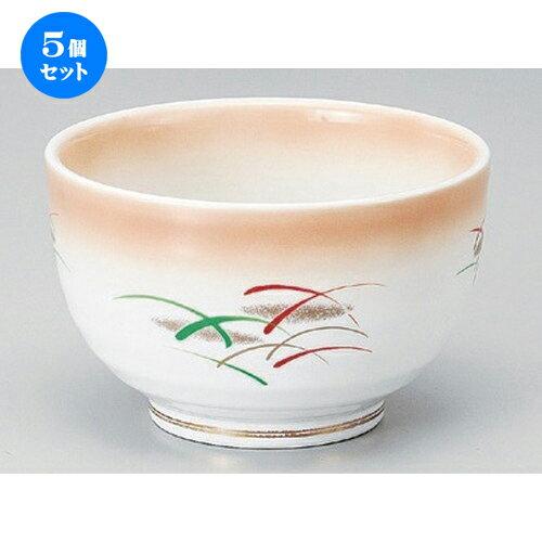 5個セット☆ 多用丼 ☆加茂川4.5夏目丼 [ 13.8 x 9cm 470g ]
