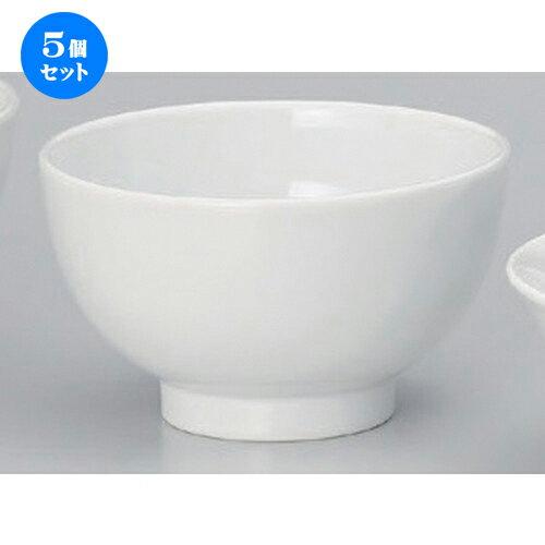 5個セット☆ 中華小物 ☆4.5深丼 [ 14.2 x 8.3cm 334g ]