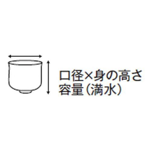 5個セット☆ ジョッキ ☆粉引はんてんライン手折ビールジョッキ [ 12.5 x 9 x 13cm (400cc) 315g ]