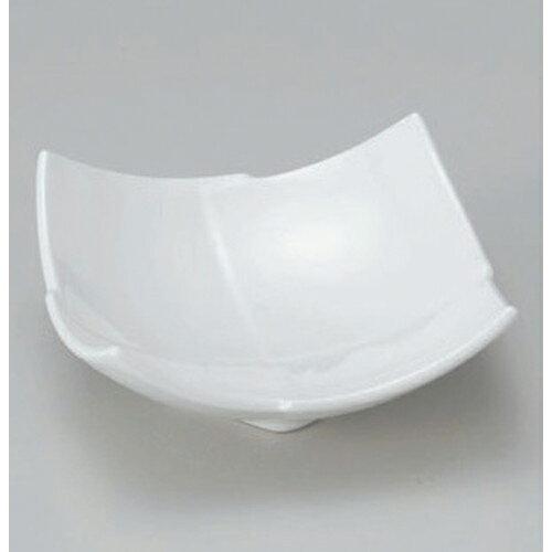 3個セット☆ 組小鉢 ☆白四角3.5小鉢 [ 11.2 x 5.7cm 205g ] 【 料亭 旅館 和食器 飲食店 業務用 】