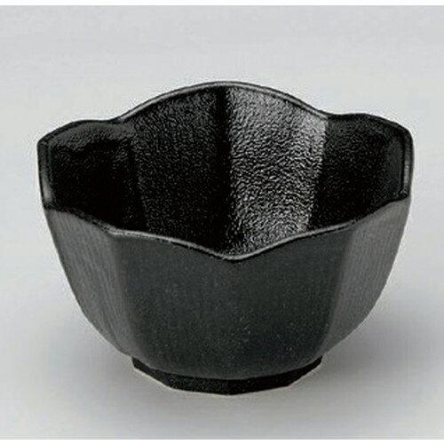 5個セット ☆ 組小鉢 ☆黒桔梗型小鉢 (小) [ 8.8 x 5cm 144g ] 【 料亭 旅館 和食器 飲食店 業務用 】