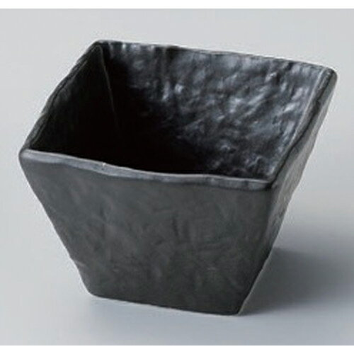 10個セット☆ 小付 ☆黒角小鉢 [ 9 x 9 x 6cm 249g ]