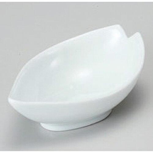 3個セット☆ 珍味 ☆桜型小鉢ホワイト [ 11.4 x 7 x 3.7cm 80g ]