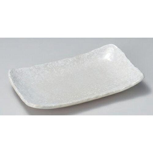 5個セット ☆ 焼物皿 ☆白結晶8.0長角皿 [ 23.4 x 14.2 x 3.2cm 471g ] 【 料亭 旅館 和食器 飲食店 業務用 】