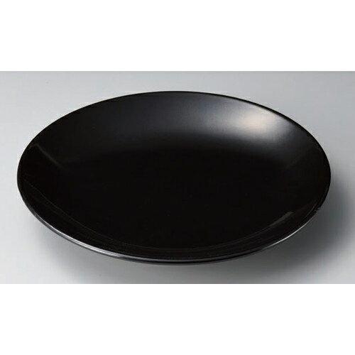 5個セット☆ 有田焼大皿 ☆黒釉12号皿 [ 37 x 5cm 1870g ] 【 料亭 旅館 和食器 飲食店 業務用 】