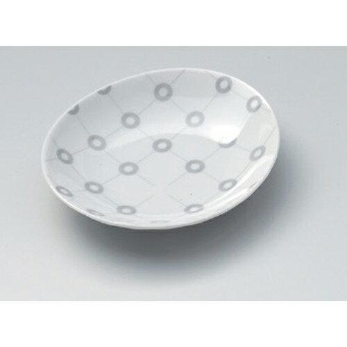 10個セット☆ 小皿 ☆マルコウシ楕円小皿 (G) [ 12 x 11 x 2.5cm 95g ]