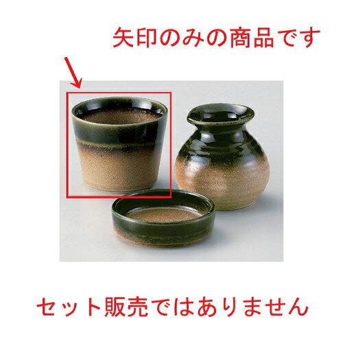 10個セット☆ そば猪口揃 ☆伊賀織部ソバ千代久 [ 8.2 x 6.6cm (185cc) 173g ]