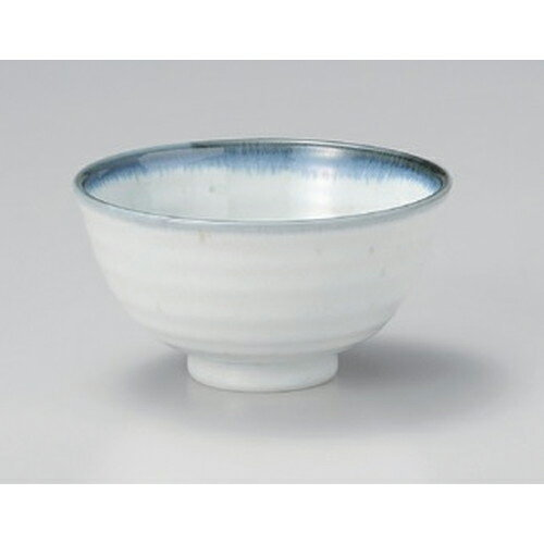 10個セット☆ 多用碗 ☆白均窯飯碗 [ 12.5 x 6.5cm 245g ]