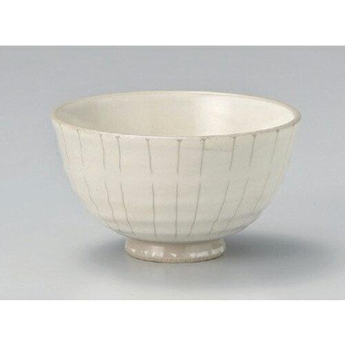 10個セット☆ 中平 ☆粉引十草茶碗 [ 11.2 x 6.3cm 184g ]