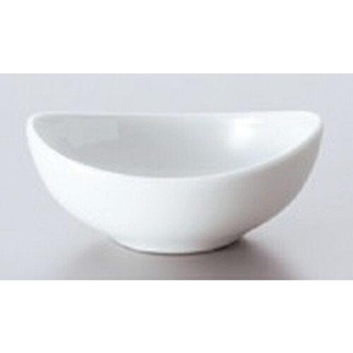 ☆ ボーダーレススタイル ☆白磁パーティーボール (S.S) [ 9.2 x 7 x 3.8cm 65g ]