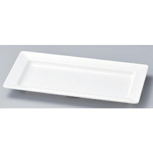 10個セット☆ 越前漆器 ☆ (M) 長角鉢 白小 45cm [ 45 x 22.7 x 4.4cm 930g ]