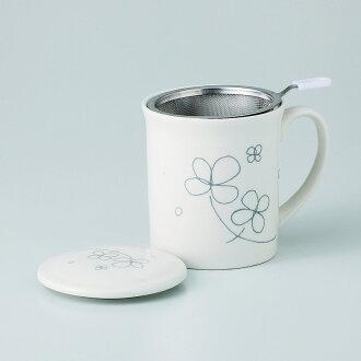 有啤酒杯茶杯蓋子的自由的啤酒杯(三葉草)[物品從屬于蓋子的啤酒杯x1/R8x9.5cm箱子:9.5x9.5x10.8cm]350g紙箱中國製造[餐具贈品裏面的祝賀漂亮]