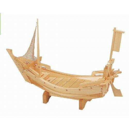 盛器 3尺檜北前舟(国産)(網別売) [90 x 31 x 38.2cm] 木製品 (7-723-12)