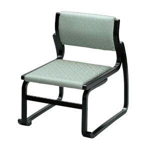 椅子越前高椅子グリーン(布)[50x58xH65xSH35cm]木製品(7-769-8)料亭旅館和食器飲食店業務用