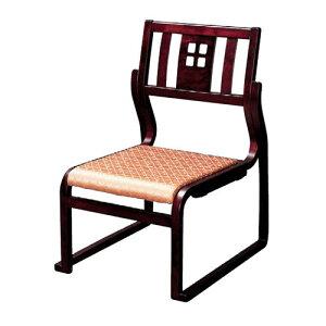 椅子幸楽高椅子ワインカラー、ベージュ(布)[51x57xH78xSH36cm]木製品(7-770-4)料亭旅館和食器飲食店業務用
