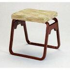 椅子 雲上1人掛椅子(布) [42 x 39 x H43cm] 木製品 (7-771-10) 【料亭 旅館 和食器 飲食店 業務用】