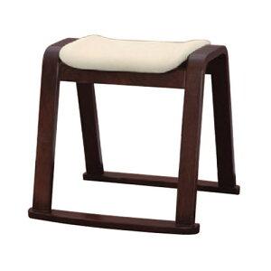 椅子木製スツールアイボリー(布)[46x44xH44cm]木製品(7-771-12)料亭旅館和食器飲食店業務用