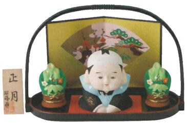 【福助】正月飾り(福助)/陶器