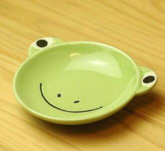 작은 접시 (개구리)