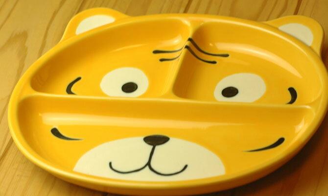 【子ども用食器】ランチプレート(トラ)